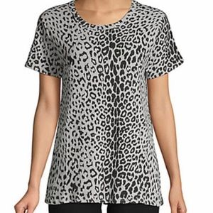 Leopard Print Chaser Tee
